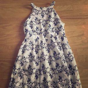 Loft Eyelet Dress
